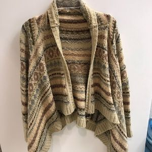 Anthropologie Sleeping on Smow cardigan sweater S